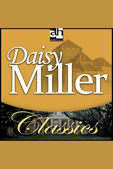 Daisy Miller - cover