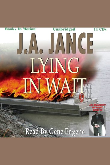Lying In Wait - JP Beaumont Book 12 - cover