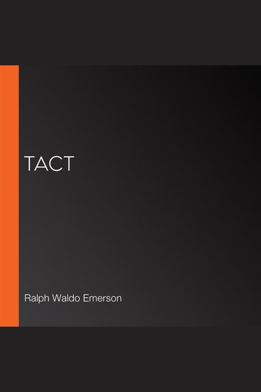 Tact - cover