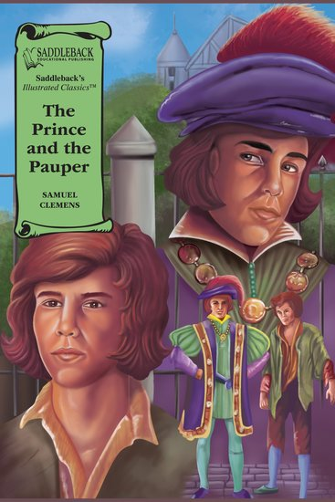 Prince and the Pauper The (A Graphic Novel Audio) - Illustrated Classics - cover