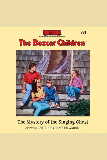 The Mystery of the Singing Ghost - cover