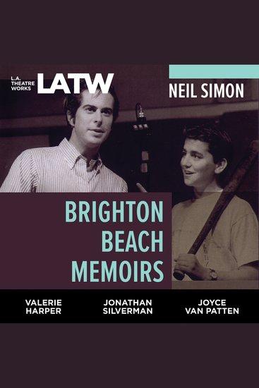 Brighton Beach Memoirs - cover