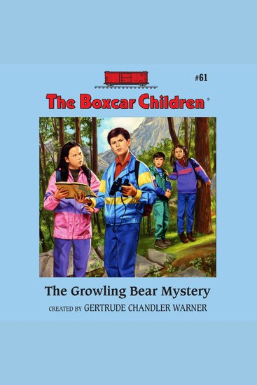 The Growling Bear Mystery - cover