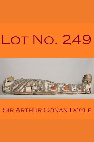 Lot No 249 - cover