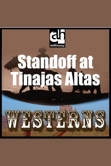 Standoff at Tinajas Altas - cover