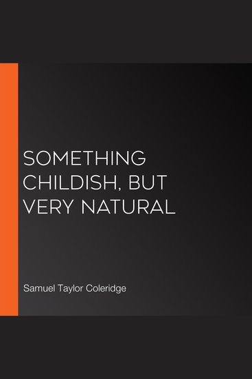 Something Childish but very Natural - cover