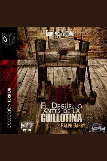 Degüello antes de guillotina - cover