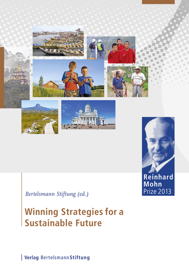 Winning Strategies for a Sustainable Future - Reinhard Mohn Prize 2013 - cover