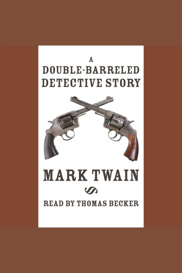 Double-Barreled Detective Story A - cover