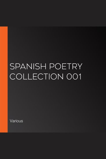 Spanish Poetry Collection 001 - cover