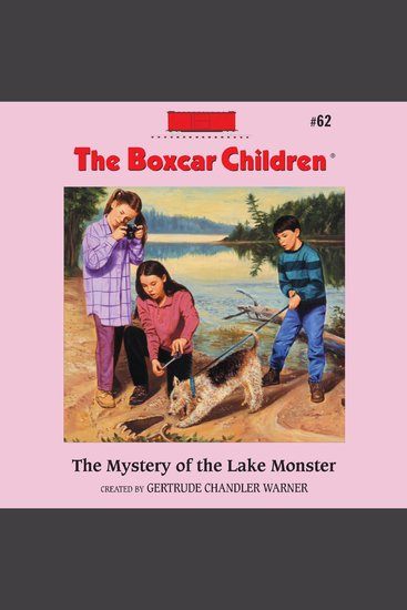 The Mystery of the Lake Monster - cover