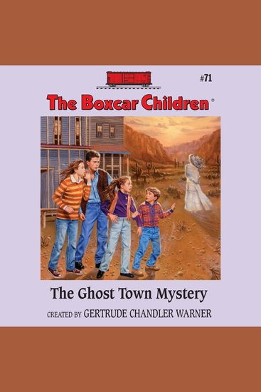 The Ghost Town Mystery - cover