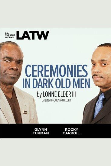 Ceremonies in Dark Old Men - cover