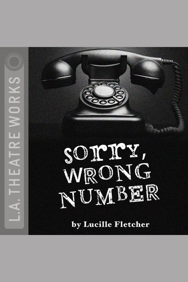 Sorry Wrong Number - cover