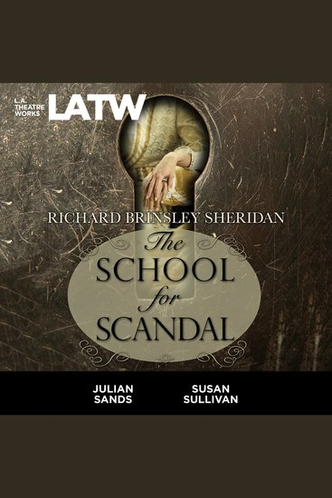 The School for Scandal - cover