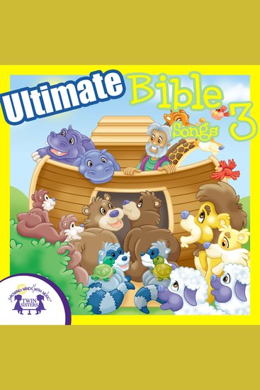 Ultimate Bible Songs 3 - cover