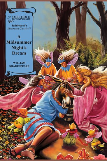 Midsummer Night's Dream A (A Graphic Novel Audio) - Graphic Shakespeare - cover