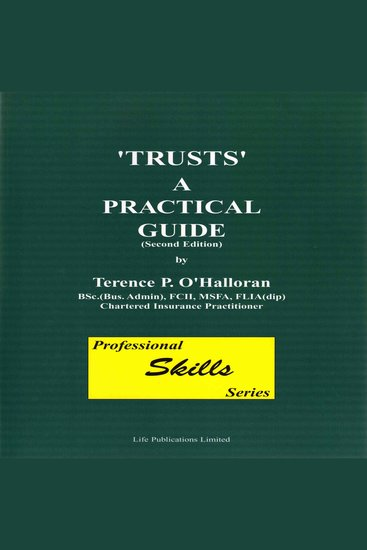 Trusts: A Practical Guide Part 1 - Professional Skills - cover