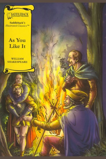 As You Like It (A Graphic Novel Audio) - Graphic Shakespeare - cover
