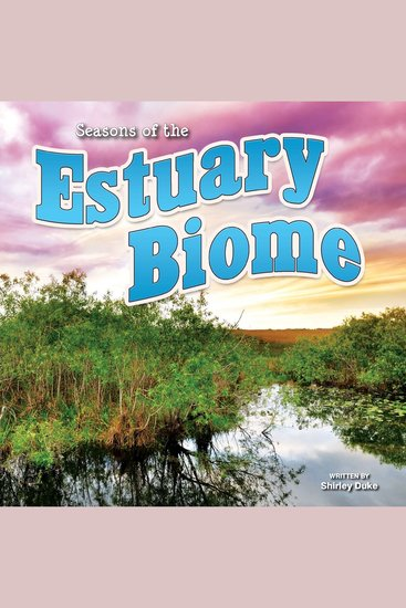 Seasons Of The Estuary Biome - cover