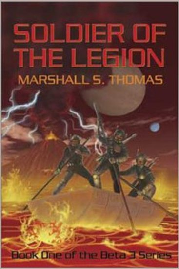 Soldier of the Legion - cover