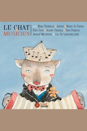 Le chat musicien - cover
