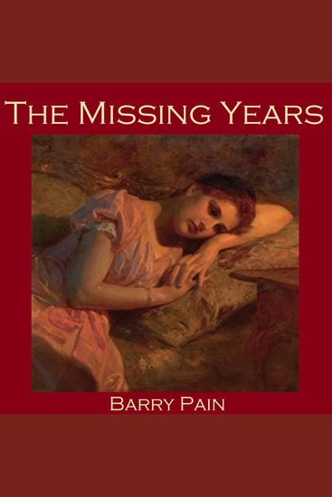 The Missing Years - cover