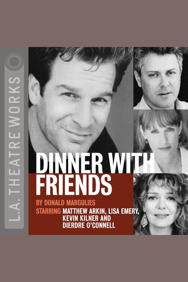 Dinner With Friends - cover