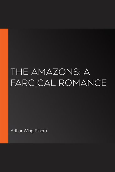 Amazons The: A Farcical Romance - cover