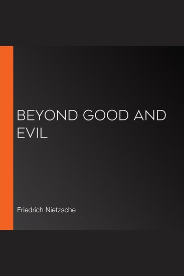 Beyond Good and Evil - cover