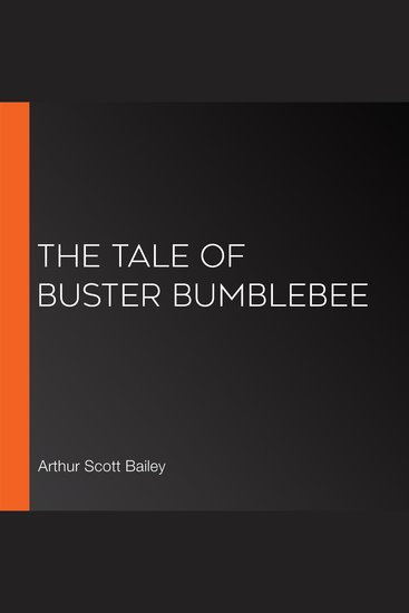 The Tale of Buster Bumblebee - cover