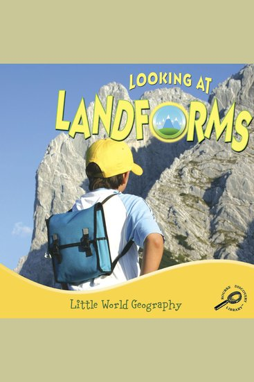 Looking at Landforms - cover