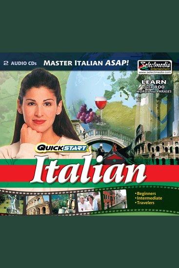 Quickstart Italian - cover