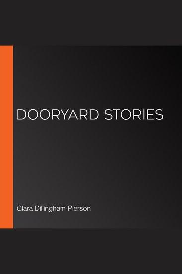 Dooryard Stories - cover