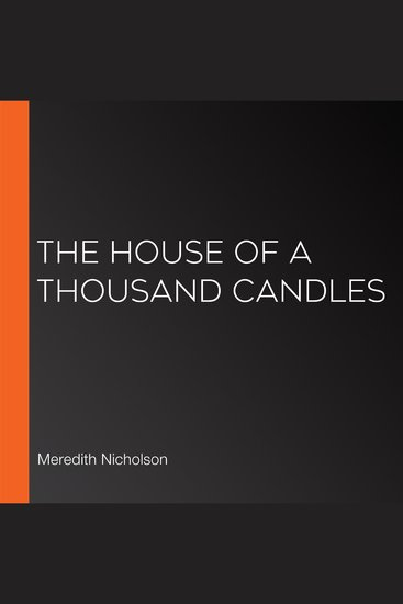 House of a Thousand Candles The (version 2) - cover