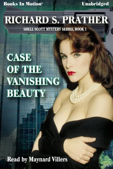 Case of the Vanishing Beauty - cover
