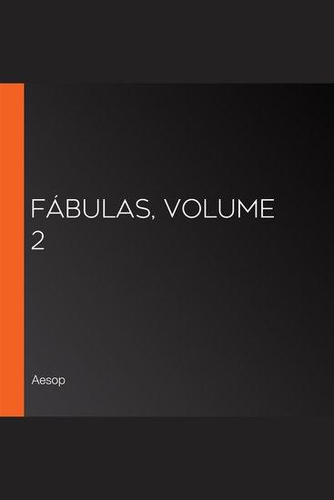 Fábulas volume 2 - cover