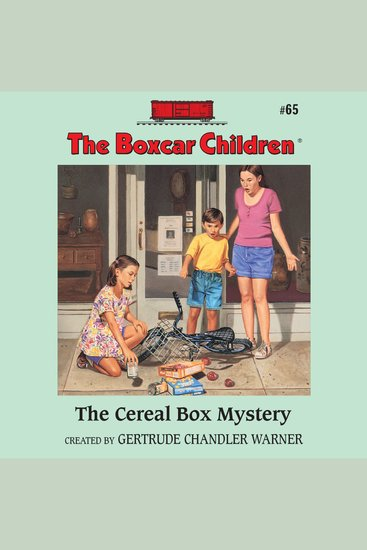 The Cereal Box Mystery - cover