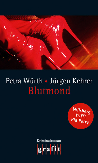 Blutmond - Wilsberg trifft Pia Petry - cover