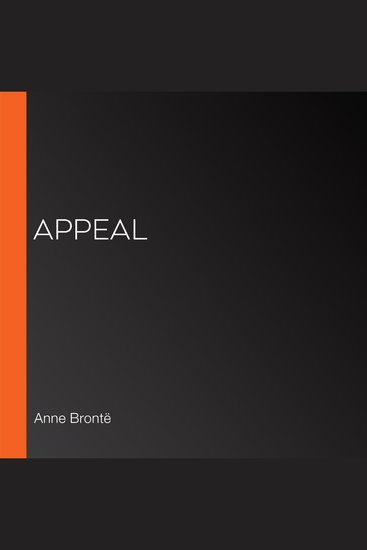Appeal - cover