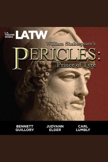 Pericles - Prince of Tyre - cover