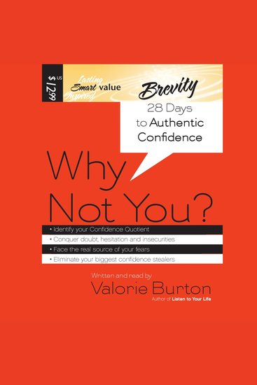 Why Not You? - 28 Days to Authentic Confidence - cover