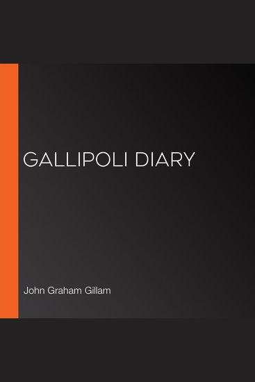 Gallipoli Diary - cover
