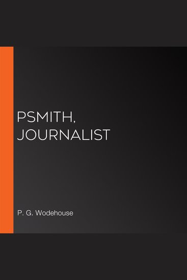 Psmith Journalist - cover