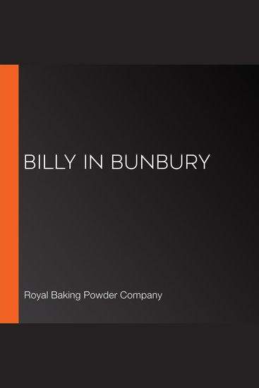 Billy in Bunbury - cover