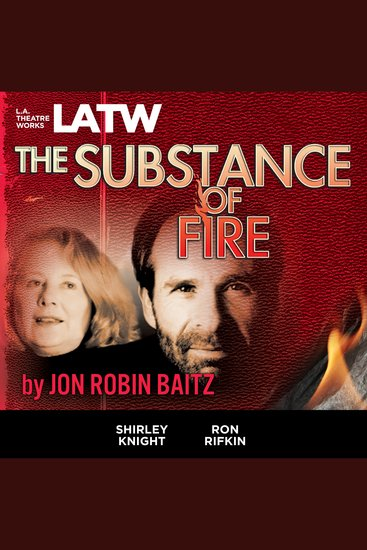 The Substance of Fire - cover