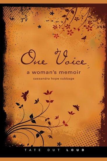 One Voice - A Woman's Memoir - cover