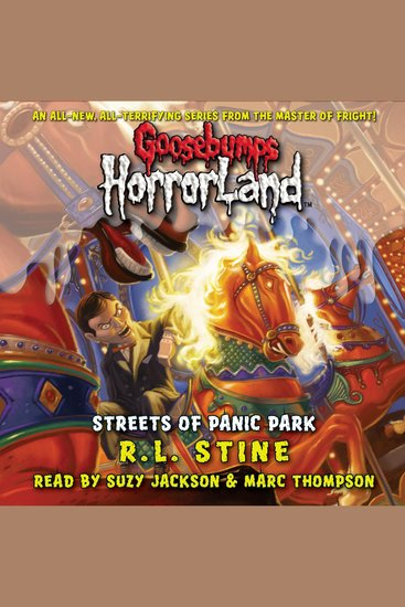 Goosebumps HorrorLand: Streets of Panic Park - cover