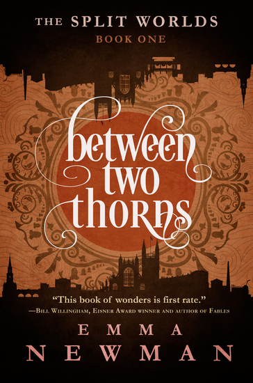 Between Two Thorns - The Split Worlds - Book One - cover