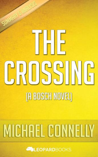 The Crossing by Michael Connelly - cover